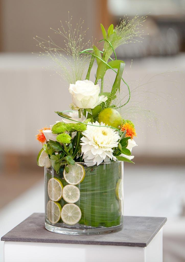 Tischdeko Hochzeitsblumen Lutdke